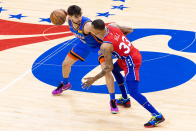 Sixers praise George Hill for his efforts in win over Command at home