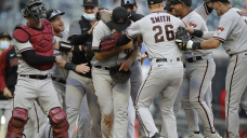 LEADING OFF: D-backs keep pitching amid no-hitter debate