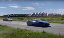 Watch a Rimac C_Two demolish a Porsche Taycan, pulls an 8.94s 1/4 mile