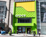 Crocs shares soar as shoe maker raises 2021 sales outlook, sees growth of 40% to 50%