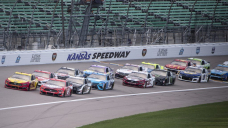 Why Sunday's NASCAR race at Kansas Speedway is called the 'Buschy McBusch Race 400'