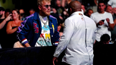 Jake Paul declines 'embarrassing' Daniel Cormier MMA fight anxiousness: 'If he comes and boxes me, I will beat him'