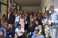 UFH students hold their parliament in Port Alfred