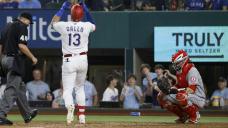 Gallo HR ends power drought, Rangers quiet Angels' bats, 6-1