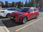 Kia Niro EV caught charging in Canberra ahead of Australian release