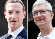 S&P 500 notches record close after strong earnings from Facebook and Apple