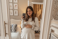 Binky Felstead gives first glimpse of her gorgeous nursery
