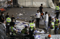 Israel works to identify 44 killed in Stir Ba'omer Mount Meron stampede