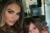 Interior TOWIE's Amy Childs' gorgeous fourth birthday celebrations