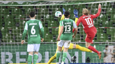 Forsberg sends Leipzig into German final