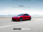 Properly that was mercurial, Tesla updates homepage with Victoria's $3,000 EV rebate. Model 3 SR+ in your driveway for $65k.
