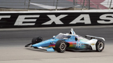 McLaughlin stuns with IndyCar oval podium
