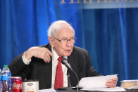 Berkshire Hathaway's operating earnings soar, Buffett continues to buy back stock