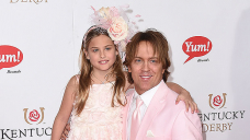 Dannielynn Birkhead, 14, Is So Grown Up In Turquoise Jovani Suit At Kentucky Derby With Dad Larry