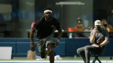 Michael Vick was disappointed in himself after running a 4.72 40-yard dash at 40 years old