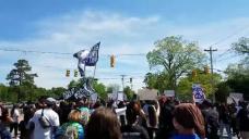 Andrew Brown Protesters March Through Elizabeth Metropolis