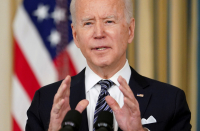 Biden heeds complaints, lifts refugee cap to 62,500