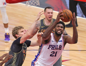 Sixers star Joel Embiid gives update on injuries, focused on his guys