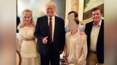 Suzanne Rogers apologizes amid controversy over photo with former U.S. president Donald Trump