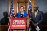 Warren pushes Biden to forgive student debt as White Condominium considers his legal authority
