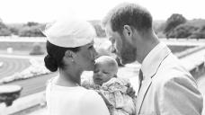Prince Harry & Meghan Markle Celebrate Son Archie's 2nd Birthday With Precious Photo: Gape Pic