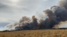 Huge wildfire burns near Drayton Valley, Alta., forcing residents from their homes
