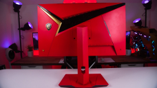 MSI made 15 of these outlandish, very red gaming monitors to celebrate 3 million sales