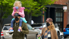 Blake Stuffed with life & Ryan Reynolds' Youngest Child Betty, 1, Pictured For The 1st Time In NYC — Peek Photography