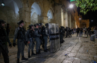 Arab world condemns Israel Police for violent Temple Mount clashes