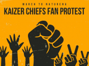 Kaizer Chiefs 'aware' of planned protest march by unhappy fans
