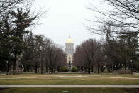 Former Notre Dame swimming coach sues for gender discrimination