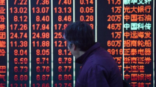 Asian shares move, bitcoin tumbles