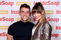 Hollyoaks' Daisy Wooden-Davis and Luke Jerdy are expecting their first child