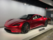 Tesla Roadster with SpaceX package will do 0-60mph in a stunning 1.1 seconds