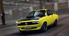 The Opel Manta GSe ElektroMOD Is A Retro EV With A Four-Dash Handbook