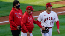 Shohei Ohtani struggles with reduced velocity in loss to Cleveland