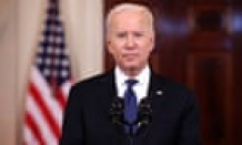 Biden hails Gaza ceasefire as a 'loyal opportunity to make development' – video
