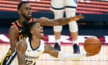 Golden Recount miss NBA playoffs as Ja Morant's 35 lift Memphis to play-in win