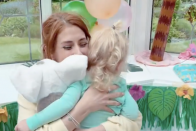 Stacey Solomon throws son Rex an epic Moana-themed birthday party