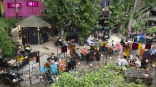 Berlin's nightclubbers sip their drinks, await better times