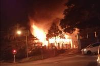 WATCH   Fireplace destroys Durban church