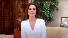 Outfit Repeat! Duchess Kate Rewears Alexander McQueen Peplum Dress From 2017
