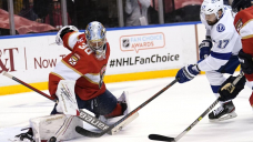 Knight time: Rookie saves 36, Panthers top Lightning 4-1