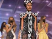 Beaded glory: How much did Zozibini Tunzi's Xhosa heritage gown fee?