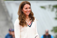 Kate Middleton pays tribute to children with personalised necklace