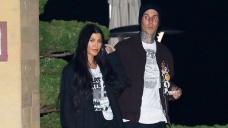 Kourtney Kardashian Hilariously Reacts To Video Mocking Her Travis Barker-Inspired 'Punk' Model