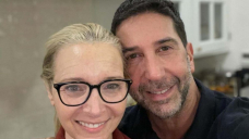 Lisa Kudrow, David Schwimmer Withhold Promise to Meet After 'Visitors' Reunion