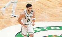 Jayson Tatum keeps the Celtics alive as Boston beats Brooklyn 125-119