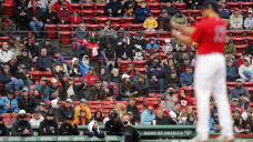 Fenway Park back to full ability; Pink Sox beat Marlins 3-1