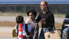 Jennifer Lopez & Twins Max & Emme, 13, Are Seen Boarding A Deepest Aircraft Amid Ben Affleck Reunion
